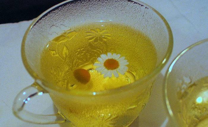 charmomile tea