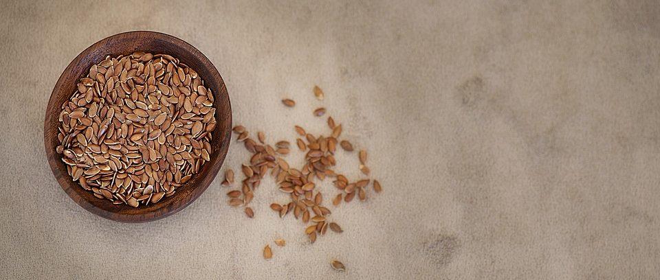 flax-seed in bowel