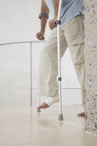 injuried foot