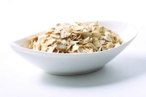 oatmeal in a bowel